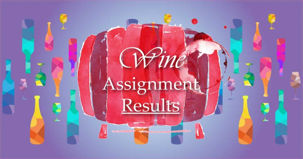 Wine-assignments-results