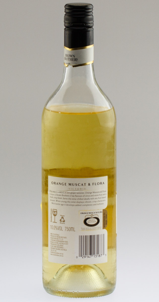 review brown brothers orange muscat flora 2013 winechatty