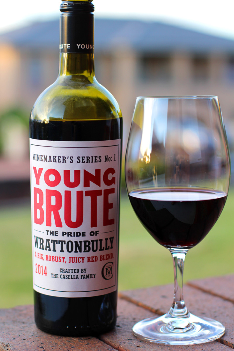 Review: Young Brute – Red Blend (2014)