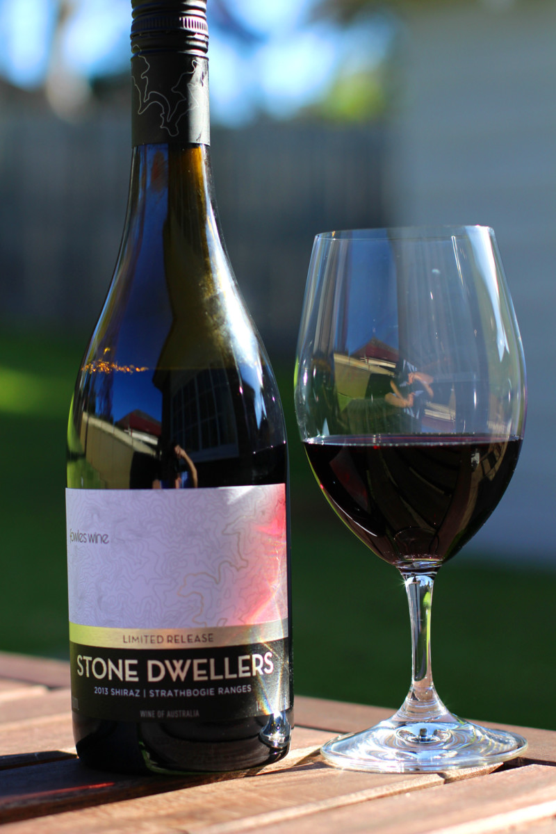 Review: Fowles Wine – Stone Dwellers Shiraz (2013)