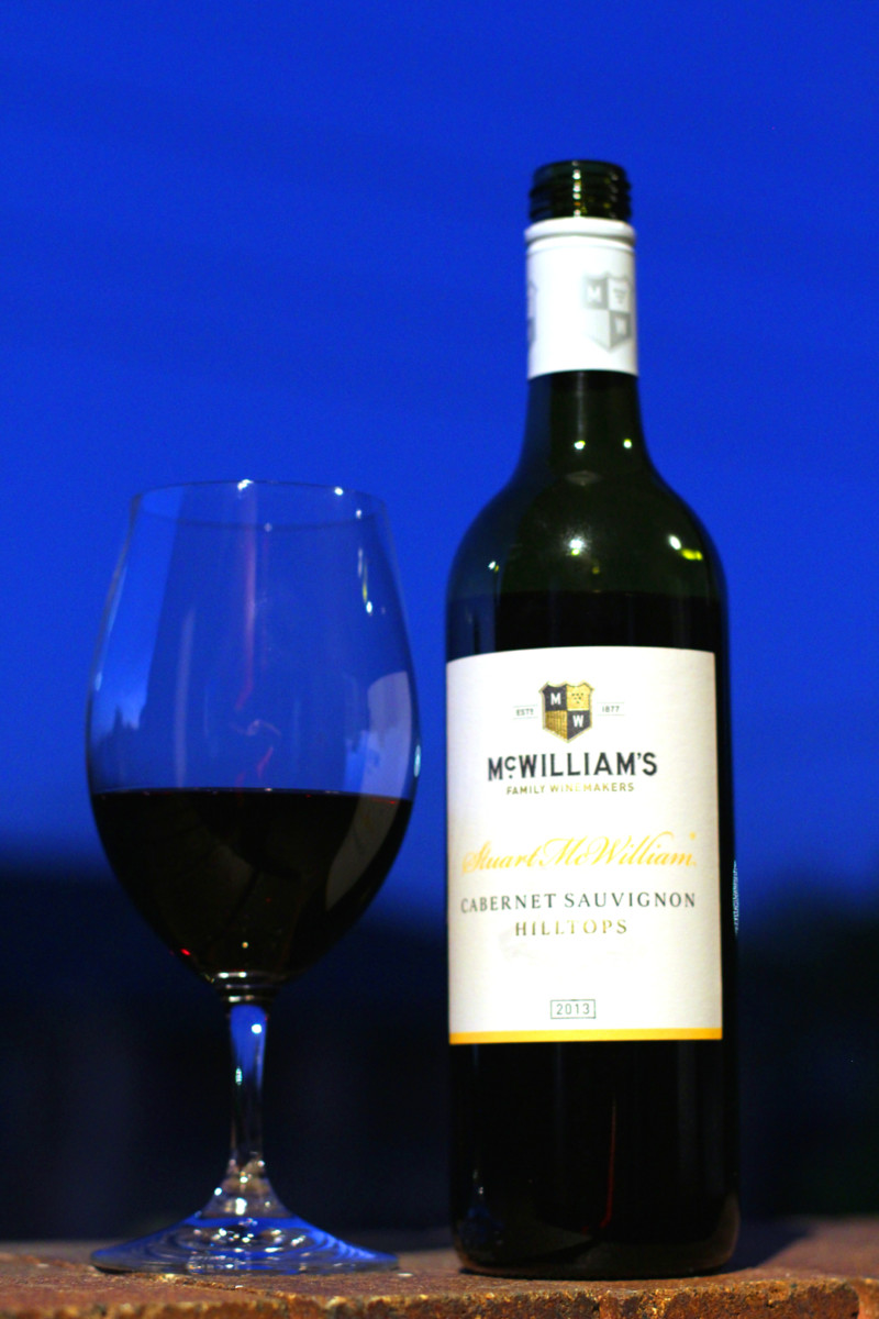 Review:  McWilliam's Cabernet Sauvignon Hilltops 2013