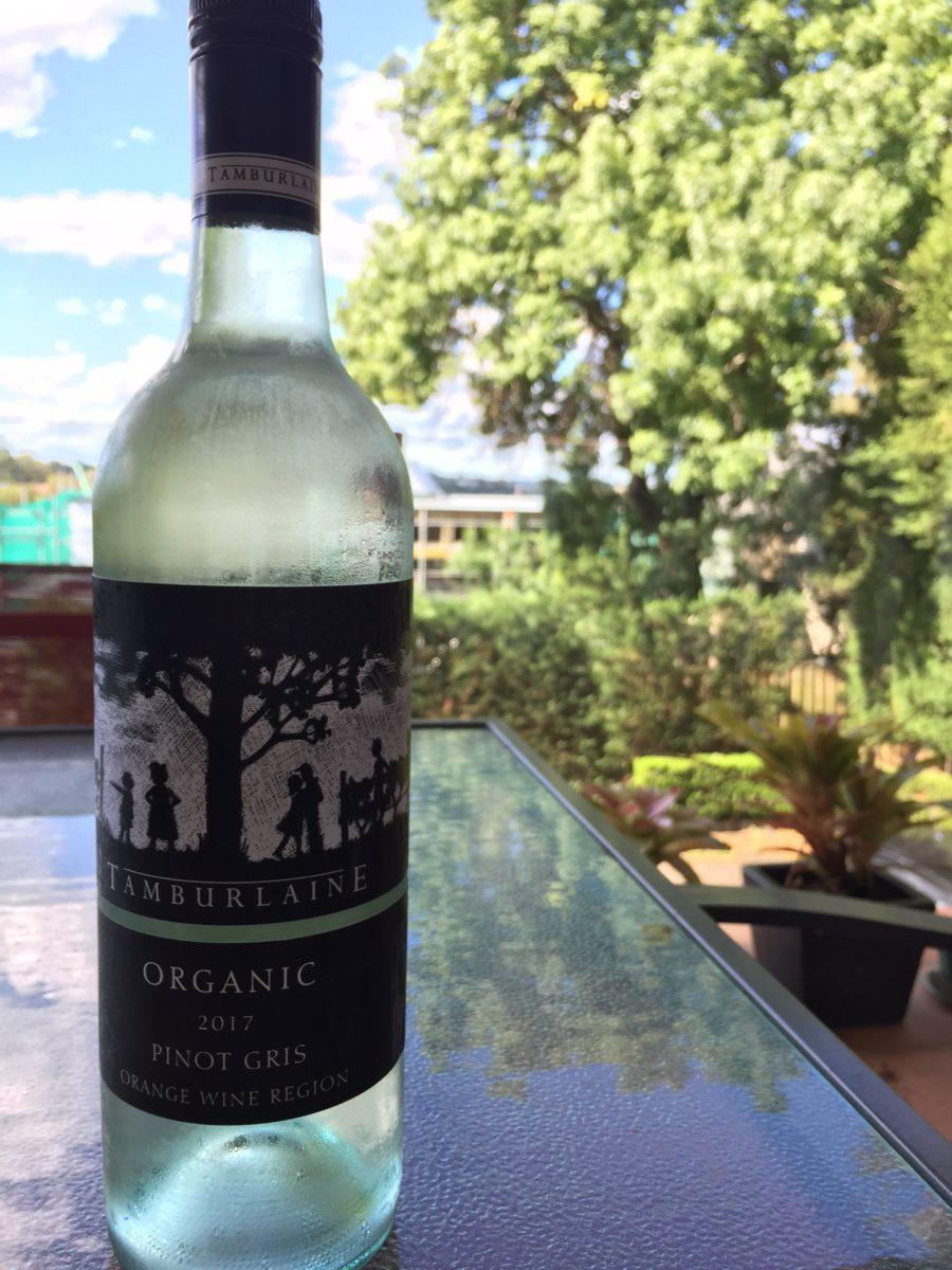 Review: Tamburlaine – Organic Pinot Gris (2017)