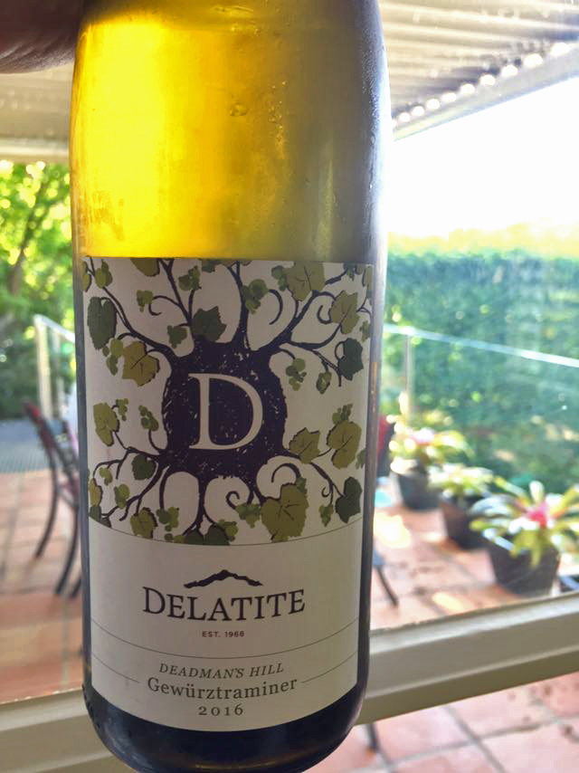 Review: Delatite – Dead Mans Hill Gewurztraminer (2016)